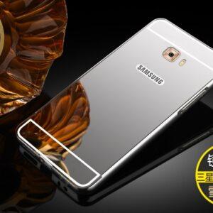 قاب آینه ای گوشی aluminium mirror case | Galaxy C5 pro