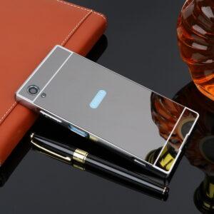 قاب آینه ای گوشی aluminium mirror case | sony xa1