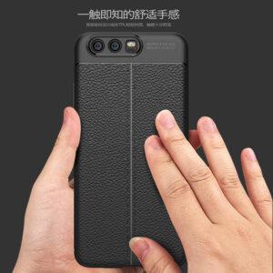 قاب چرم گوشی AutoFocus leather case | Huawei P10