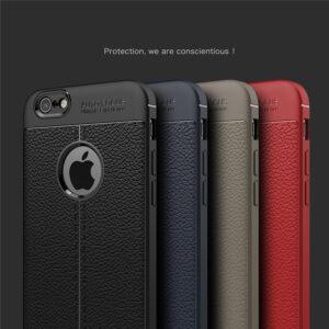قاب چرم گوشی AutoFocus leather case | iphone 6 plus
