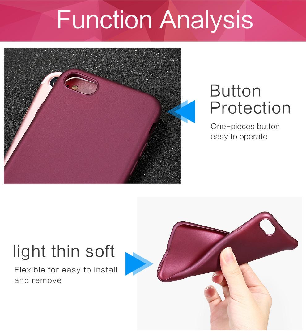 قاب ژله ای گوشی x-level case | iphone 7