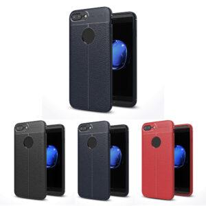 قاب چرم گوشی AutoFocus leather case | iphone 8 plus