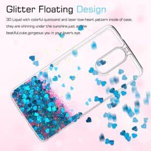 قاب آکواریومی گوشی Liquid glitter case | LG K10 2017