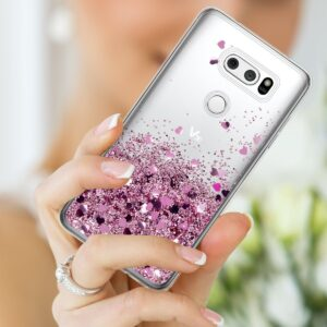 قاب آکواریومی گوشی Liquid glitter case | LG V30