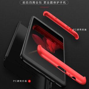 قاب گوشی سه تیکه full cover 3in1 | A8 Plus 2018