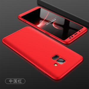 قاب گوشی سه تیکه full cover 3in1 | Galaxy A8 2018