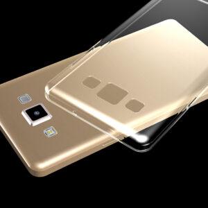 قاب ژله ای شفاف USAMS transparent case | galaxy A7