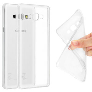 قاب ژله ای شفاف گوشی USAMS transparent case | galaxy A8