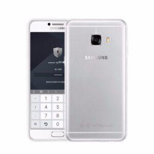 قاب ژله ای شفاف گوشی USAMS transparent case   Galaxy C5