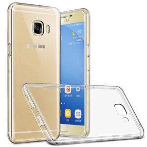 قاب ژله ای شفاف گوشی USAMS transparent case | Galaxy C7