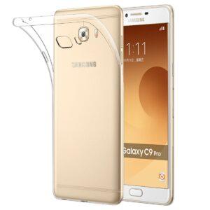 قاب ژله ای شفاف گوشی USAMS transparent case | Galaxy C9 Pro