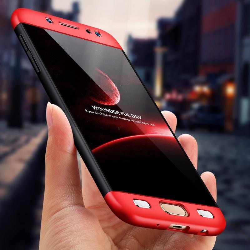 قاب گوشی سه تیکه full cover 3in1 | Galaxy j7 pro |