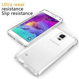 قاب ژله ای شفاف گوشی USAMS transparent case | Galaxy Note 4
