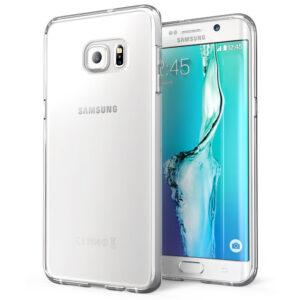 قاب ژله ای شفاف گوشی USAMS transparent case | galaxy S6 edge