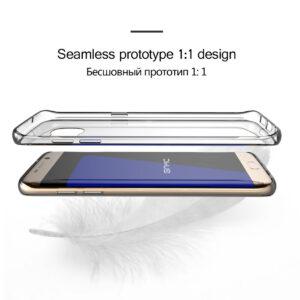قاب ژله ای شفاف USAMS transparent case | galaxy S7 edge