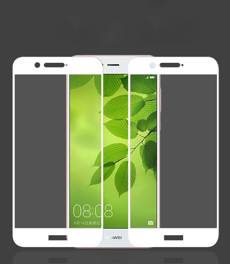 محافظ صفحه نمایش شیشه ای با پوشش قسمت منحنی 5D full glass | Nova 2 Plus