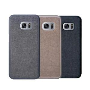 قاب محکم طرح کتان سامسونگ Toraise cotton case   Galaxy S7 edge