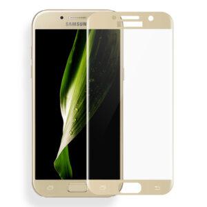 محافظ صفحه نمایش شیشه ای با پوشش منحنی 4D full glass | Galaxy A5 2017