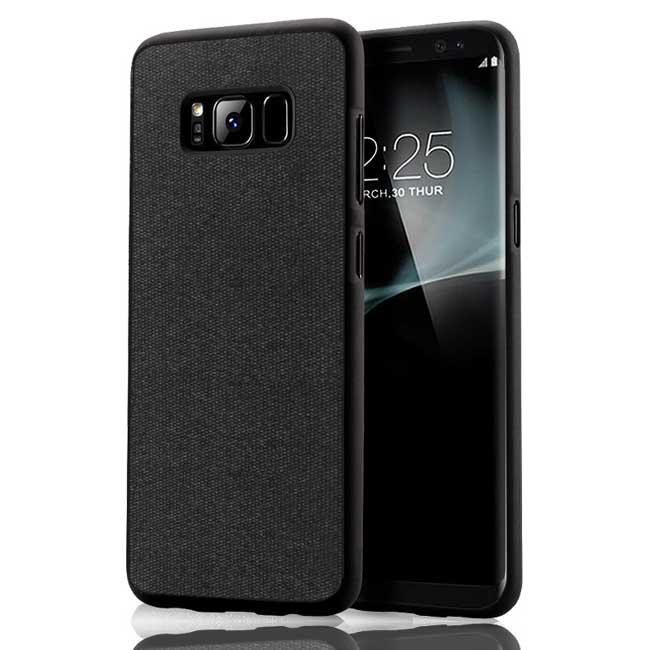 قاب محکم طرح کتان سامسونگ Toraise cotton case | Galaxy S8