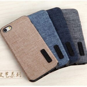 قاب محکم طرح کتان اپل Toraise cotton case | iphone 5s