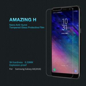 محافظ صفحه نمایش شیشه ای Remax glass | Galaxy A8 2018