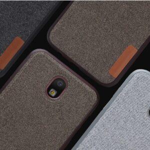قاب محکم طرح کتان Toraise cotton case | Samsung j3 Pro