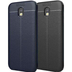 قاب طرح چرم گوشی سامسونگ AutoFocus leather case | j7 Pro