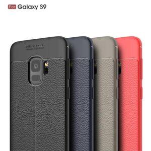 قاب طرح چرم گوشی سامسونگ AutoFocus leather case | Galaxy S9