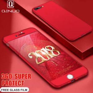 قاب گوشی ۳۶۰درجه پلاستیکی اپل IPAKY full case 360   iphone 8 Plus