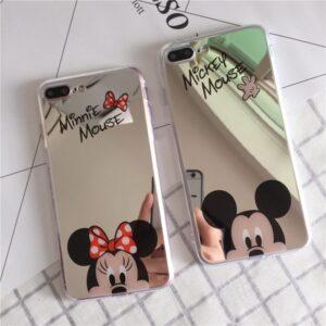 قاب گوشی ژله ای آینه ای Hello Kitty mirror case | iphone 7 Plus