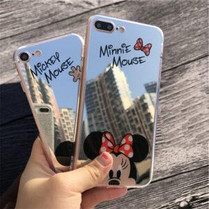 قاب ژله ای آینه ای گوشی اپل Hello Kitty mirror case | iphone 7