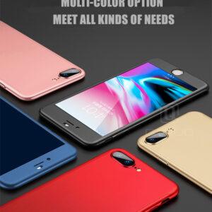 قاب گوشی ۳۶۰درجه پلاستیکی آیفون full case 360   iphone 7 Plus