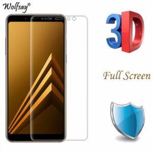 محافظ صفحه نمایش نانو پوشش کامل گلکسی CAFELE Nano Screen Protector | A8 Plus 2018