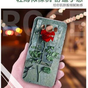قاب طرح گل رز گوشی سامسونگ Lack 3D flower case | j1 2016