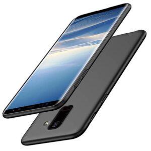 قاب گوشی ژله ای انعطاف پذیر Msvii back cover | Samusng A8 2018