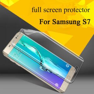 محافظ صفحه نمایش نانو تمام صفحه CAFELE Nano Screen Protector | Galaxy S7