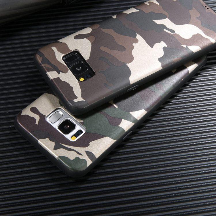 قاب گوشی طرح چریک ارتشی گلکسی Lack Army case   S8 Plus