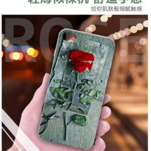 قاب گوشی طرح گل رز Lack 3D flower case | Xiaomi mi 5