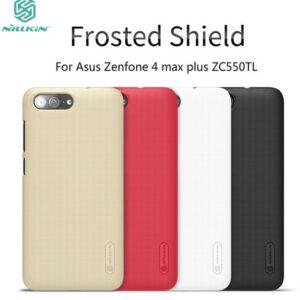 قاب نیلکین فراستد شیلد ایسوس Frosted shield Nillkin case | Zenfone 4 max ZC554KL 5.5 inch