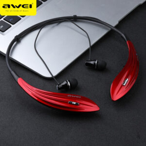 هندزفری بلوتوث گردنی آوی AWEI Headphone Super Bass Neckband A810BL