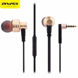 هندزفری آوی AWEI Metal Earphone Stereo Headset ES-10TY