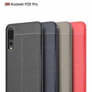 قاب محکم طرح چرم گوشی هواوی AutoFocus leather case P20 Pro | P20 Plus