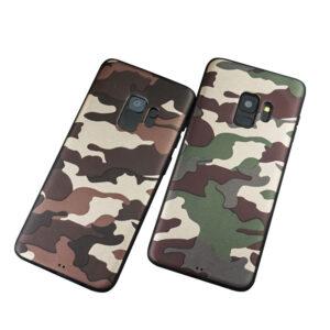 قاب طرح چریک ارتشی سامسونگ گلکسی Lack camouflage case | S9 Plus
