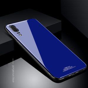 قاب محکم پشت گلس هواوی Makavo Tempered Glass case | Huawei P20 Pro