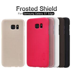 قاب محافظ نیلکین گوشی سامسونگ گلکسی Frosted shield Nillkin case | S7 edge