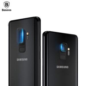 محافظ لنز دوربین شیشه ای گلکسی Baseus 9H Back Camera Lens Glass | S9