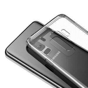 قاب گوشی ژله ای شفاف سامسونگ ROCK transparent case | S9 Plus