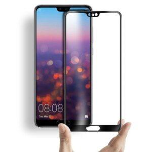محافظ صفحه نمایش تمام چسب فول سایز هواوی BUFF Nano full glass | P20