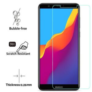 محافظ صفحه نمایش LCD شیشه ای هواوی Remax 9H tempered glass   Y6 Prime 2018