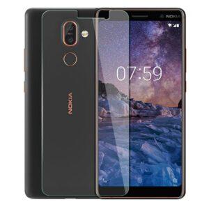 محافظ صفحه نمایش شیشه ای نوکیا Remax 9H tempered Screen Glass | Nokia 7 Plus